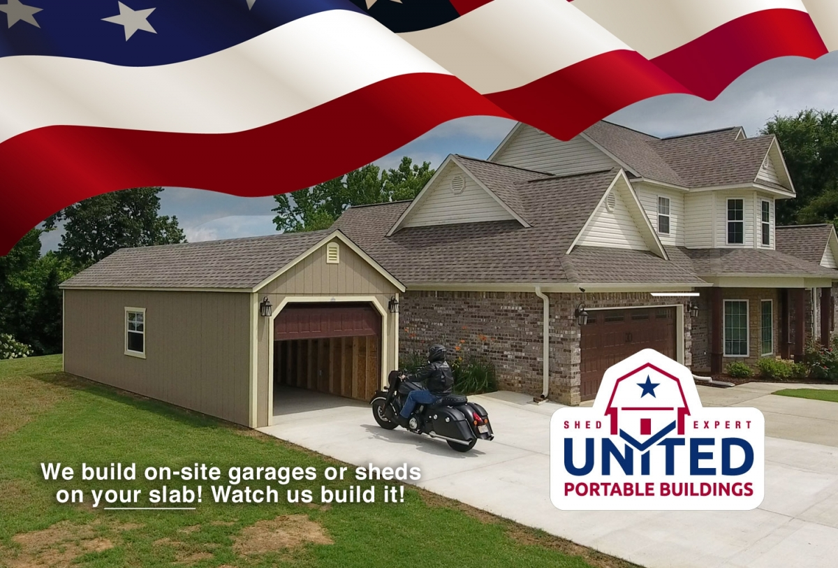 Now Offering On-site Shed and Garages built on your slab ...