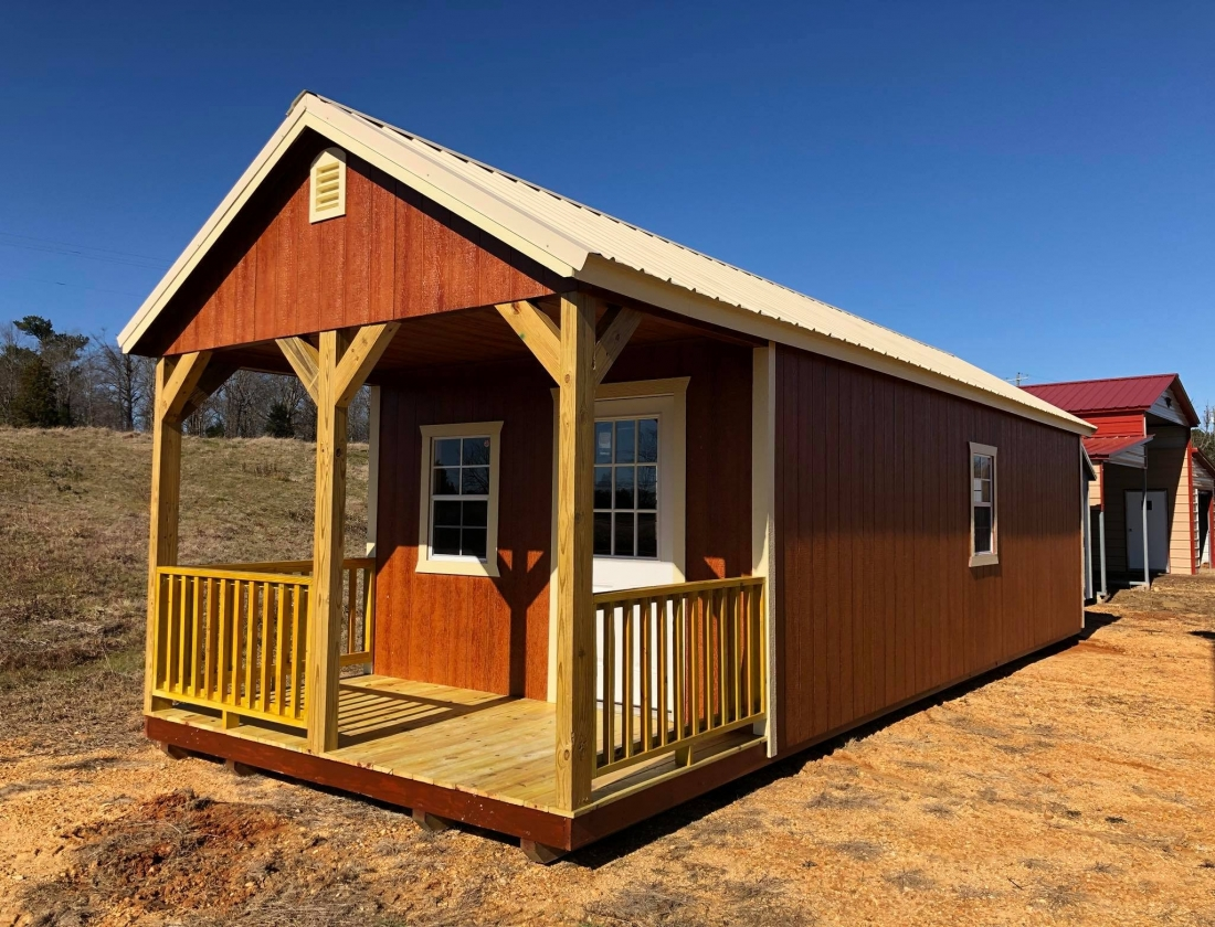 Cabin: United Portable Buildings