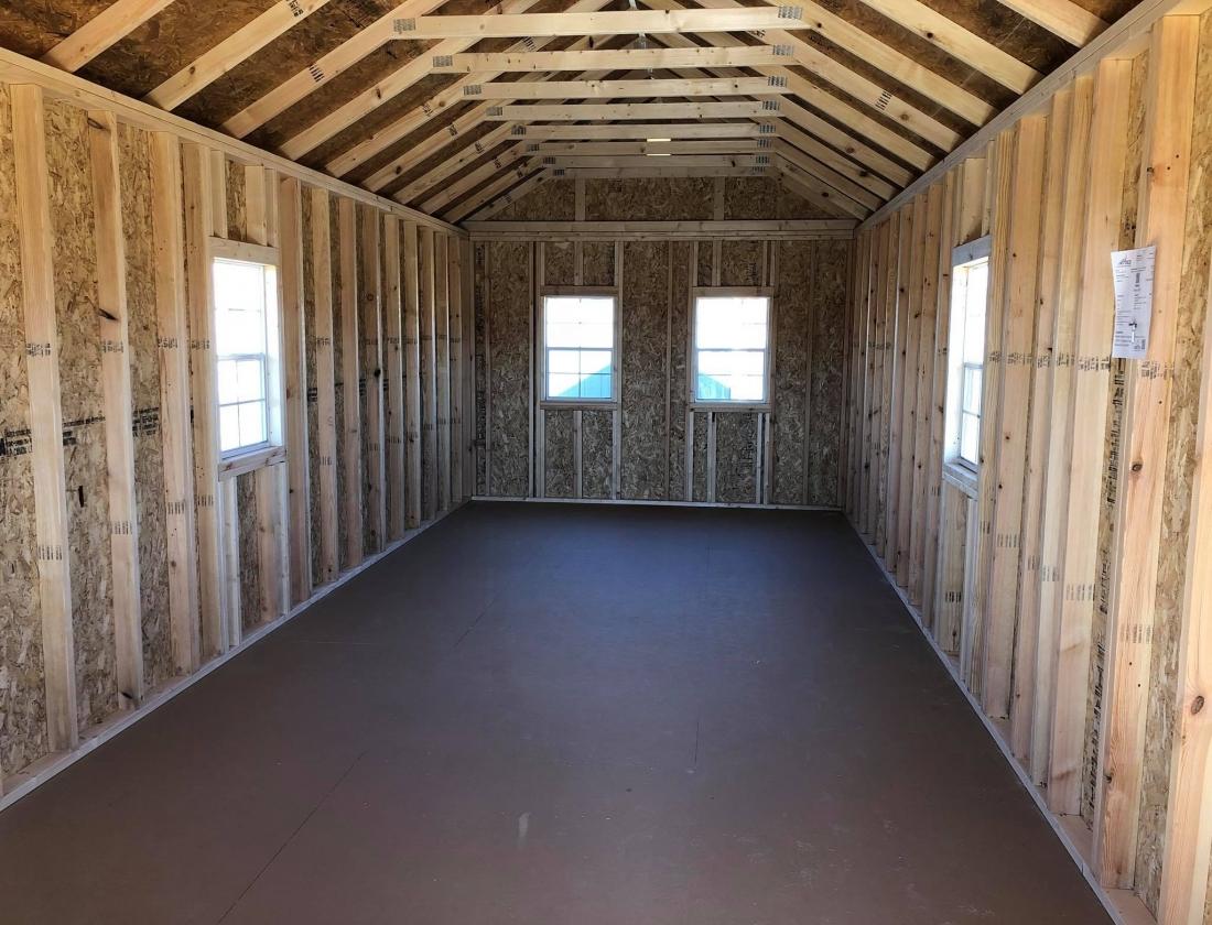 Cabin: United Portable Buildings