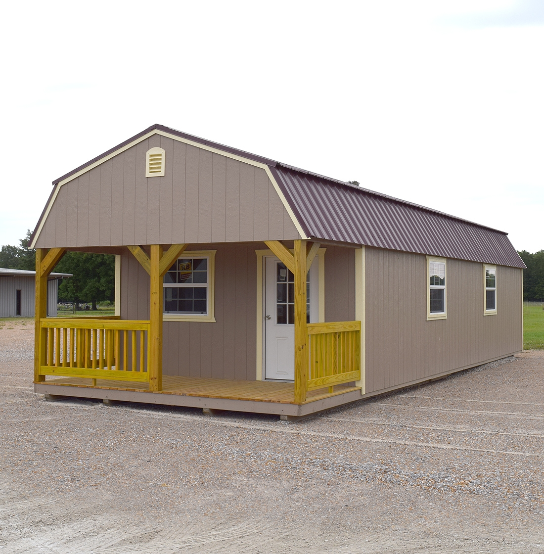 Lofted Cabin United Portable Buildings