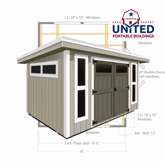 Austin Flat: United Portable Buildings